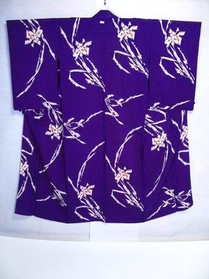 Purple Iris Ro Back
